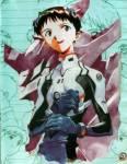 (B) Ikari Shinji